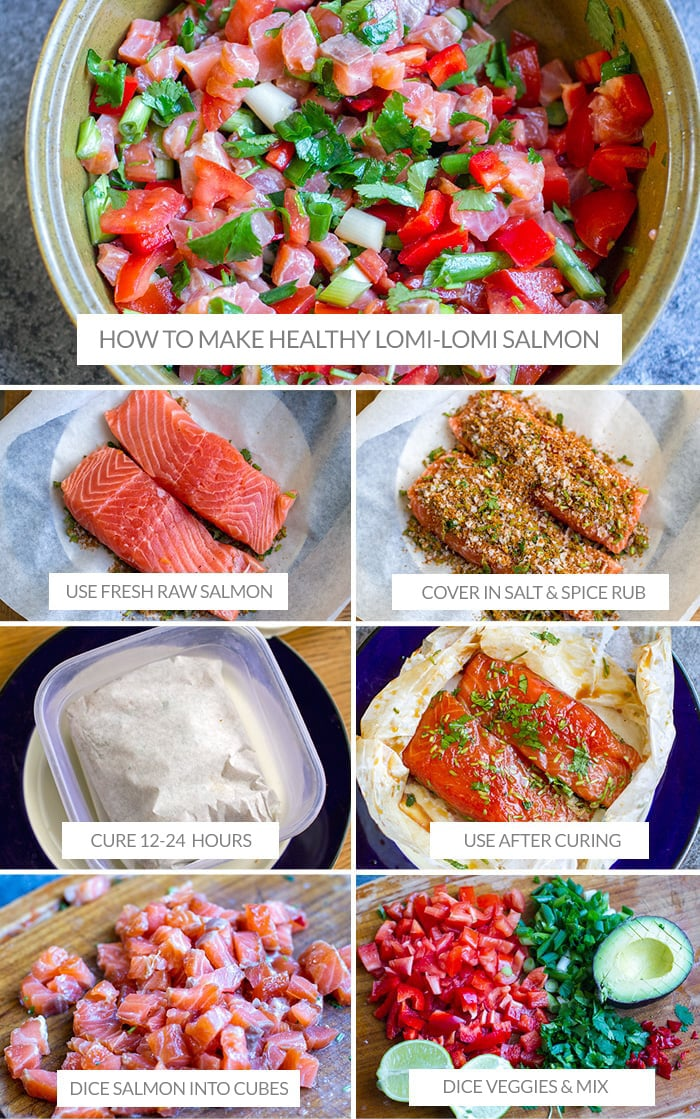 How to Make Lomi Lomi Salmon Salad