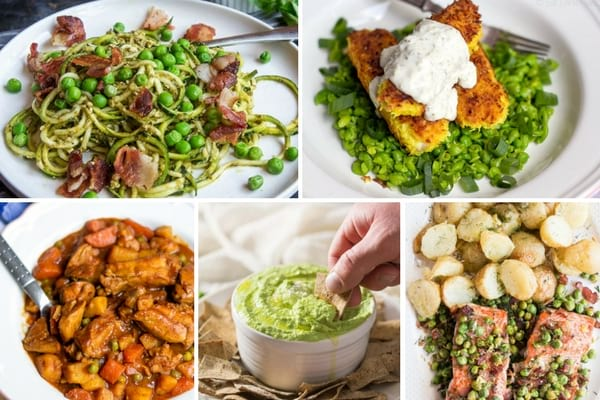 Recipes with green peas