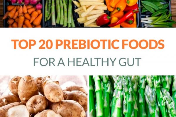 Best prebiotic foods for gut health, list of 20 healthy options