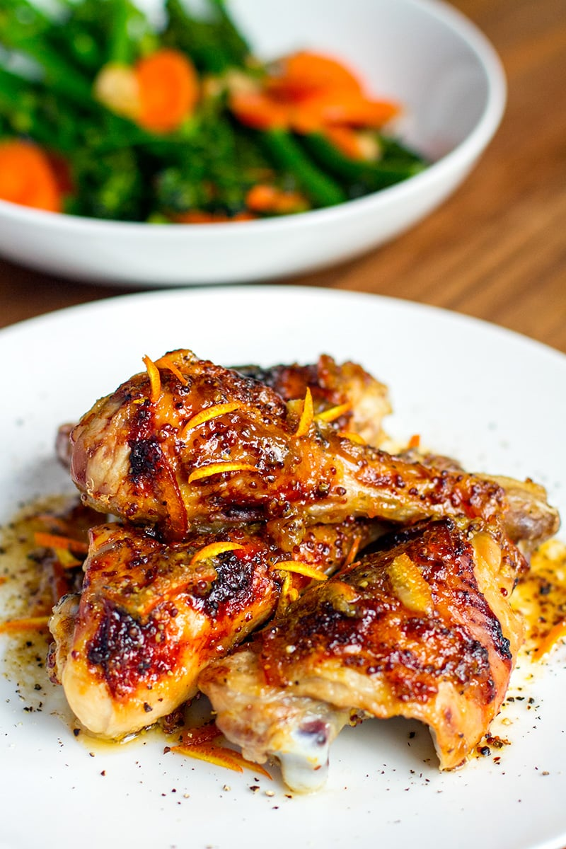Orange Marmalade Chicken Recipe (gluten-free, easy)