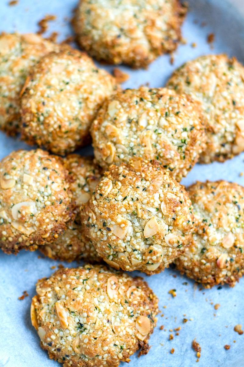 Paleo Anzac Biscuits (gluten-free, grain-free)