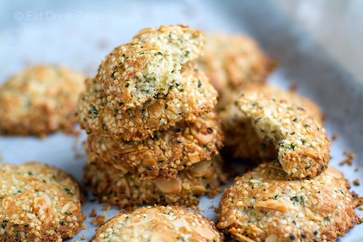Paleo Anzac Biscuits With Hemp Seeds