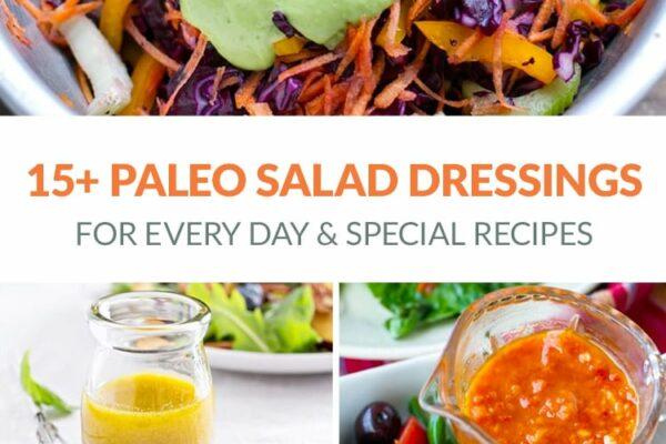 Paleo Salad Dressing Recipes