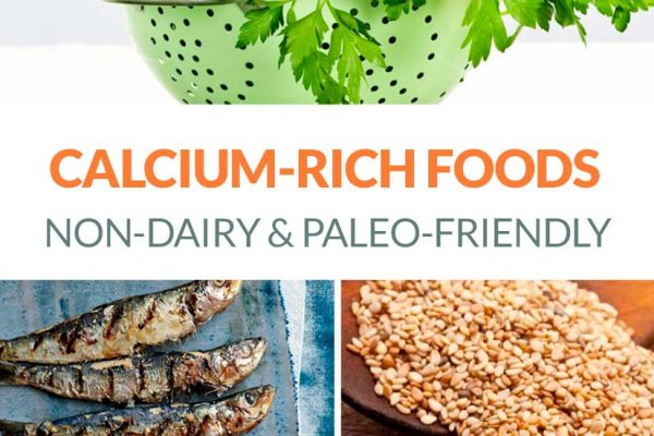 Calcium-Rich Foods Dairy-Free & Paleo Options