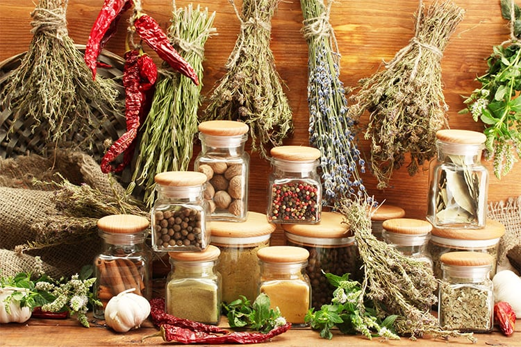 One surprising reason to use herbs and spices is calcium content