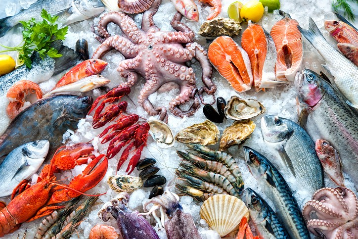 seafood fish nutrition