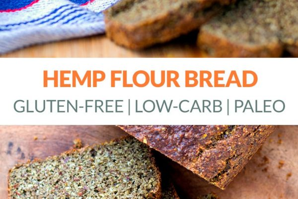 Hemp Flour Bread (Low-Carb, Paleo, Gluten-Free)