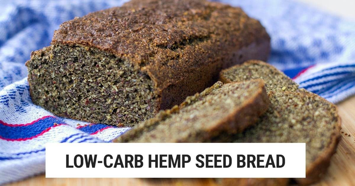 Low Carb Paleo Bread With Hemp Flour Irena Macri Food Fit For Life