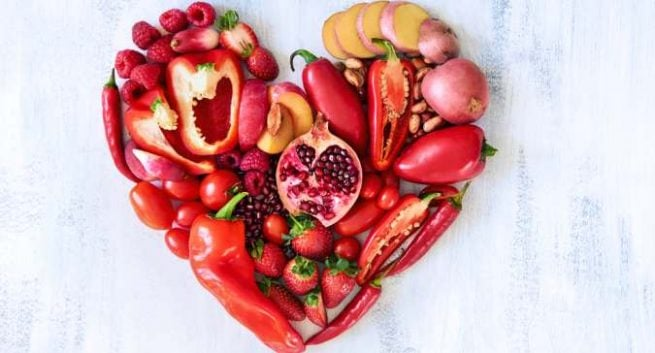 red-fruit-vegetables-nutrition