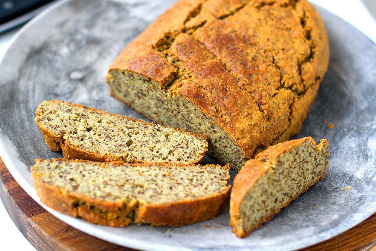 Savoury Paleo Bread Loaf