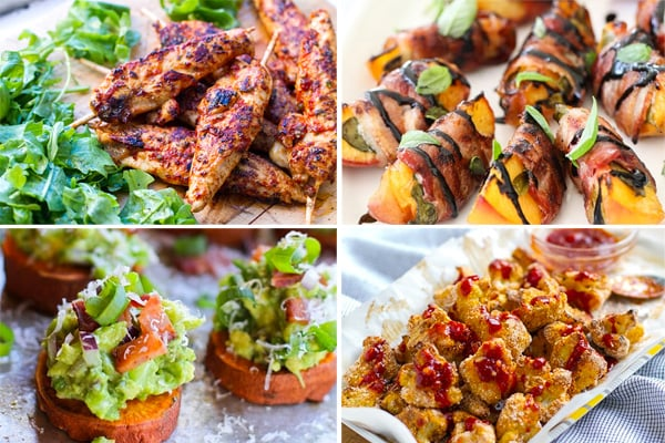 Paleo finger food and party ideas