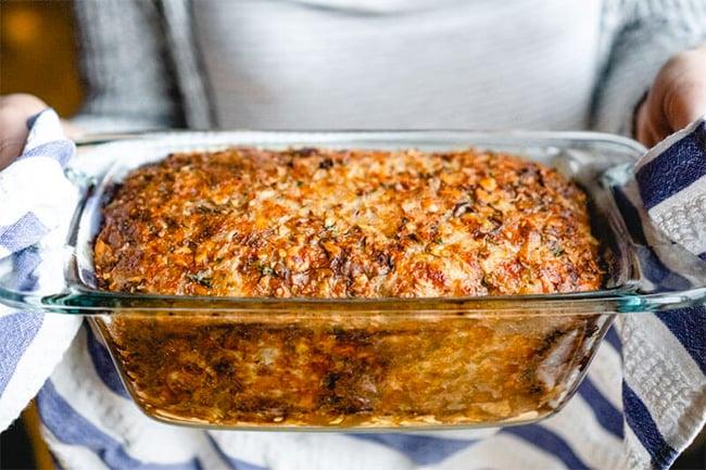 Thanksgiving Vegetarian 'meatloaf' nut roast