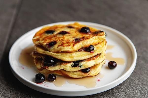 Dairy-free keto pancakes