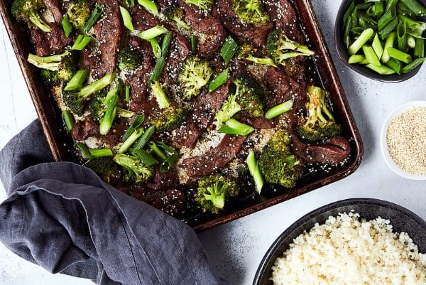 Keto beef & broccoli bake