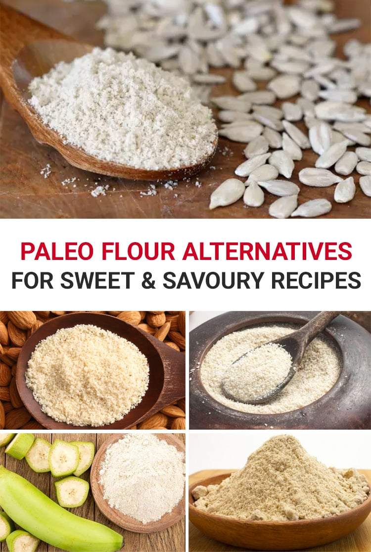 Paleo Flour Alternatives For Sweet & Savoury Cooking and Baking