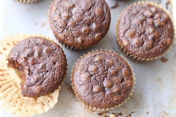 Paleo Chocolate Mocha Muffins