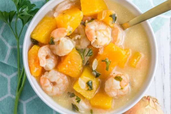 Paleo Slow Cooker Recipes: Shrimp Chowder