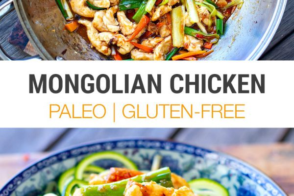 Paleo Mongolian Chicken With Zucchini Noodles