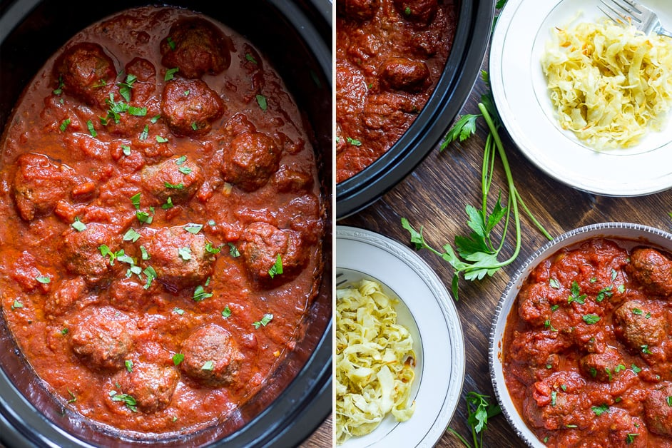 Slow Cooker Meatballs Paleo