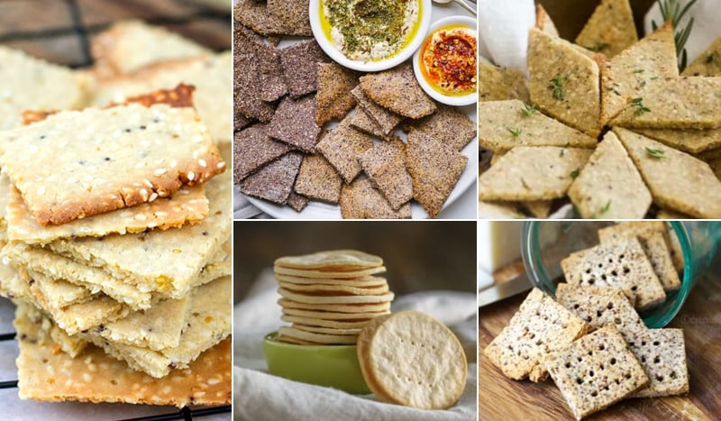 Paleo Crackers Including Low-Carb & Keto Options