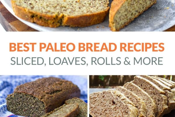 The Best Paleo Bread Recipes Including Sliced Sandwich Bread, Loaves, Rolls, Wraps & More | #paleo #grainfree #paleobread #bread #baking #paleobaking #paleorecipes #glutenfree