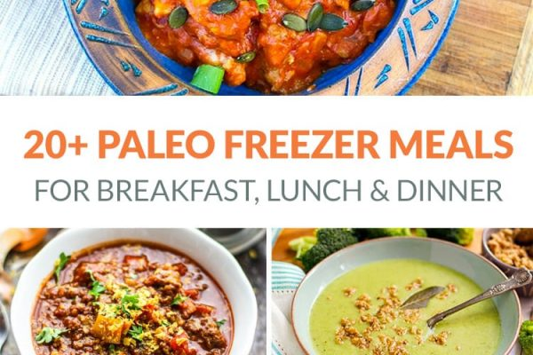 20+ Paleo Freezer Meals Including Breakfast, Lunch & Dinner
