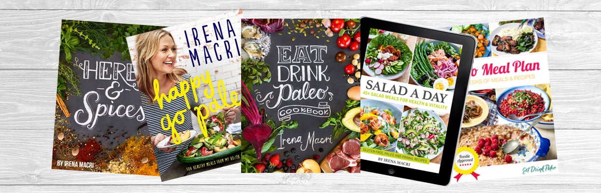Healthy Cookbooks & eBooks by Irena Macri