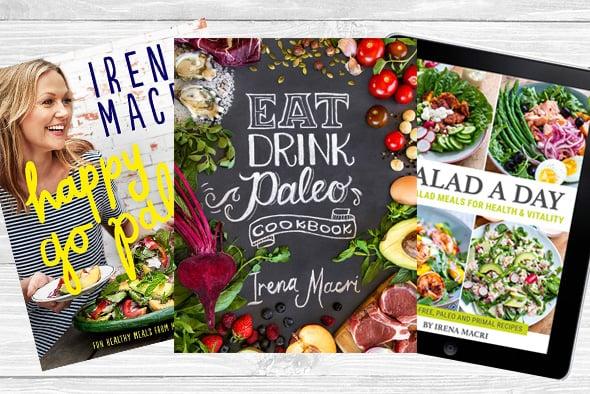 Irena Macri's Cookbooks & eBooks