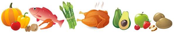 Foods to eat on paleo diet