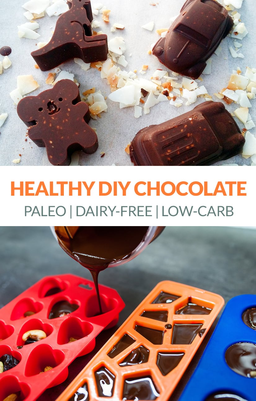 Easy Paleo Chocolate (Healthy, Homemade, Low-Carb)
