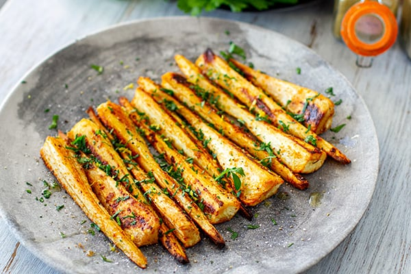 Spiced Roasted Parsnips Recipe