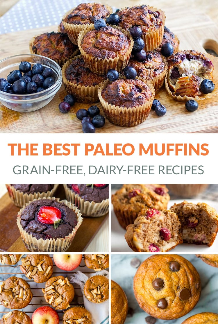Paleo Muffins - The Best Grain-free, Dairy-free, Sugar-free Recipes