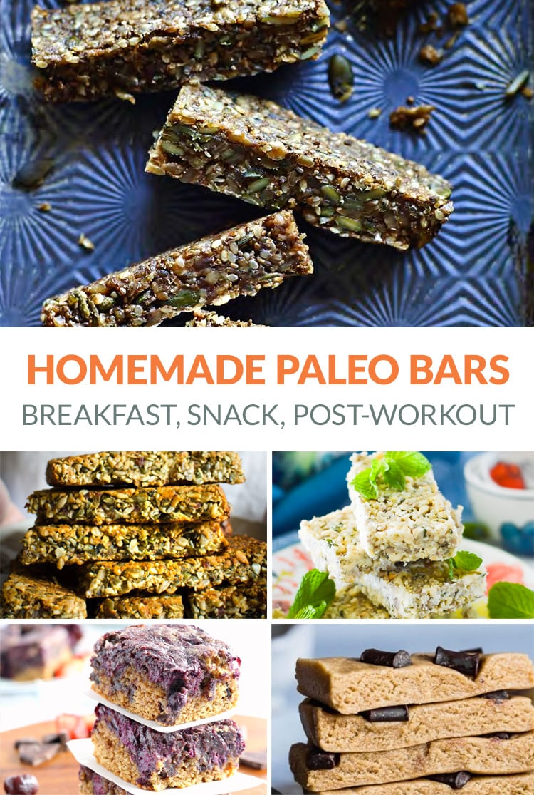 Homemade paleo bars - the best recipes for on-the-go snacks