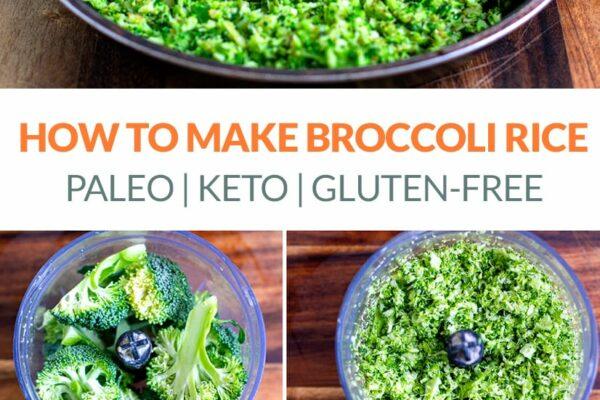 Easy Broccoli Rice (Keto, Paleo, Whole30, Gluten-Free)