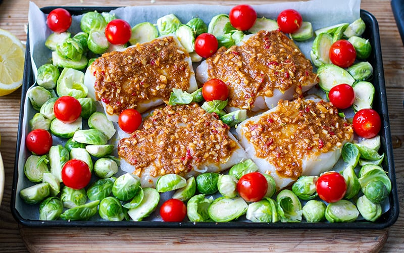 Recipe for baked cod