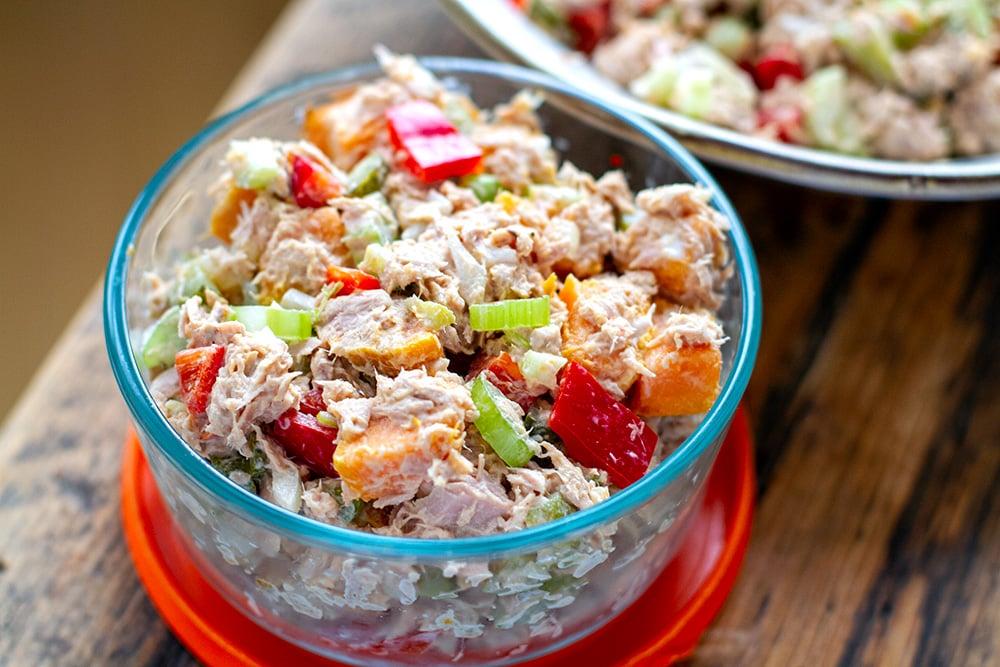 Paleo Tuna Salad With Sweet Potatoes