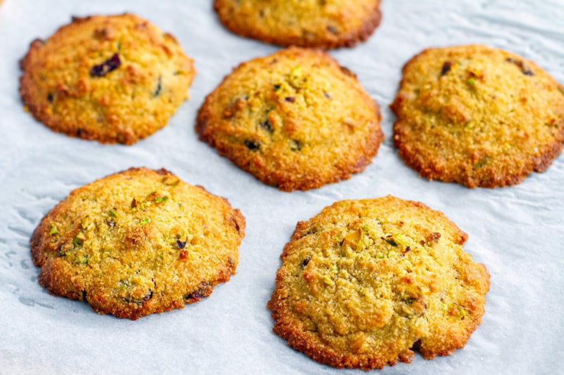 Almond Meal Cookies With Coconut Flour (Low-Carb)