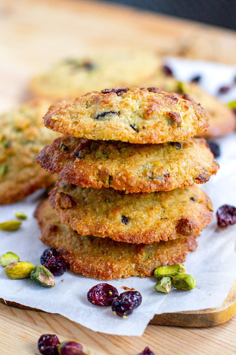 Golden Cookies (Low-Carb, Gluten-free, Grain-Free)