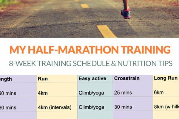 8-Week Half-Marathon Training Plan & Nutrition