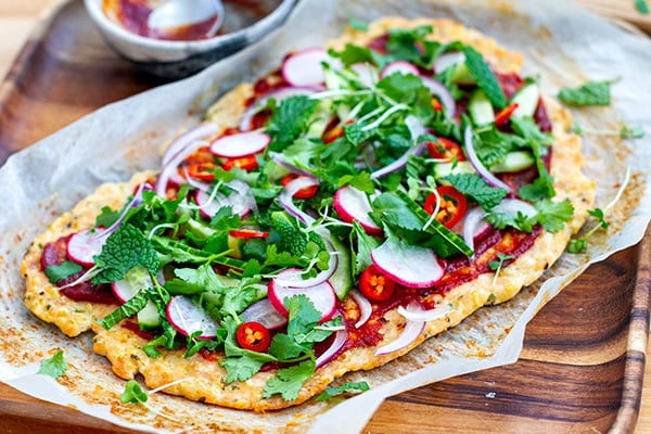 Chicken Pizza Crust Keto Low-carb