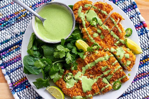 Mexican Chicken Schnitzel (Paleo, Whole30, Gluten-Free)