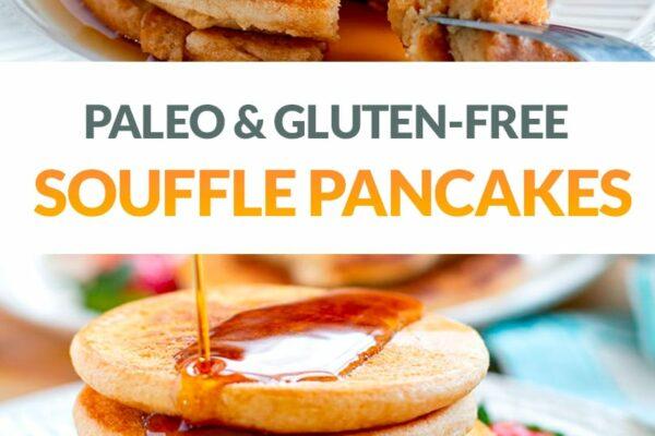 Souffle Pancakes (Paleo, Gluten-Free, Japanese-Inspired)
