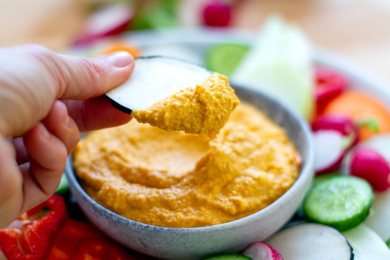 Things to dip in hummus