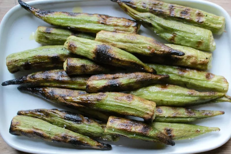 How to cook okra - grilled, pan-fried or roasted