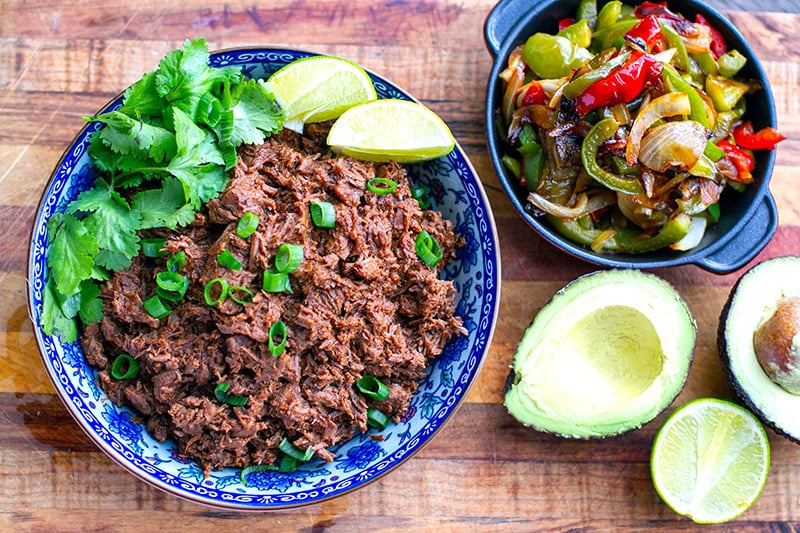Mexican Shredded Beef Slow-Cooker, Instant Pot & StoveTop