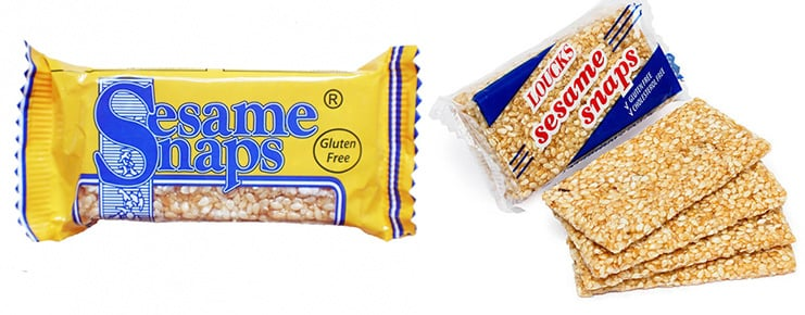 Sesame Snaps the original store-bought version