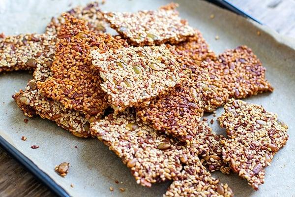 Sesame snaps recipe
