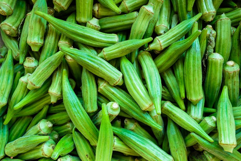 What Is Okra? Image of okra beans