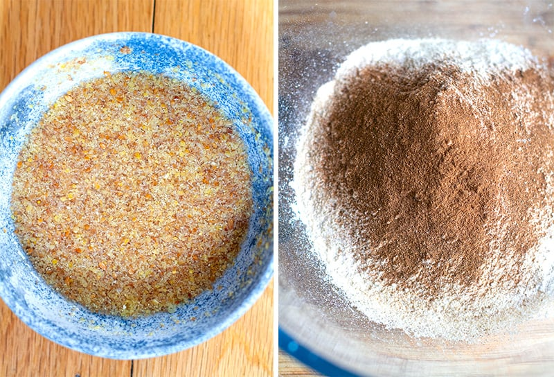 Ground Flaxseed egg replacement