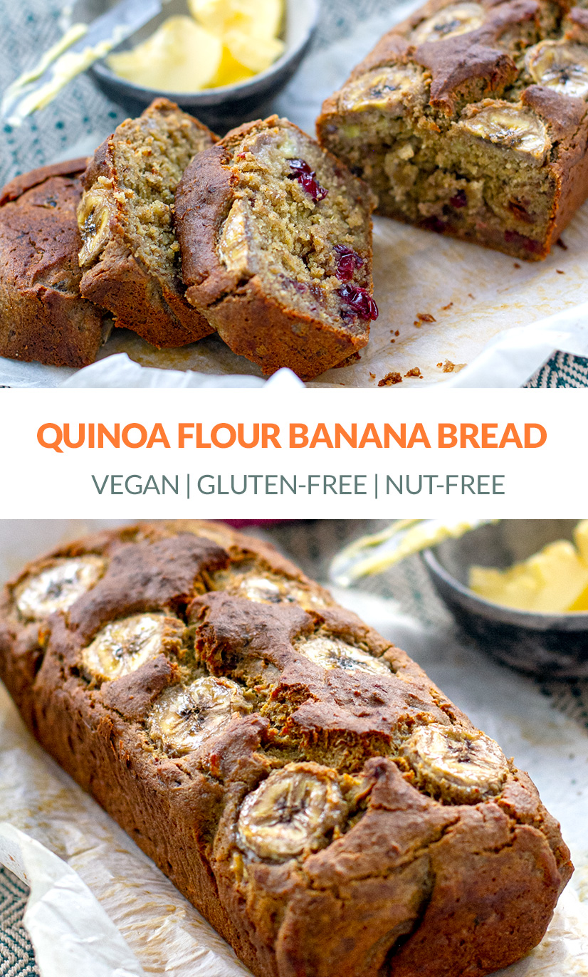 Quinoa Banana Bread Recipe